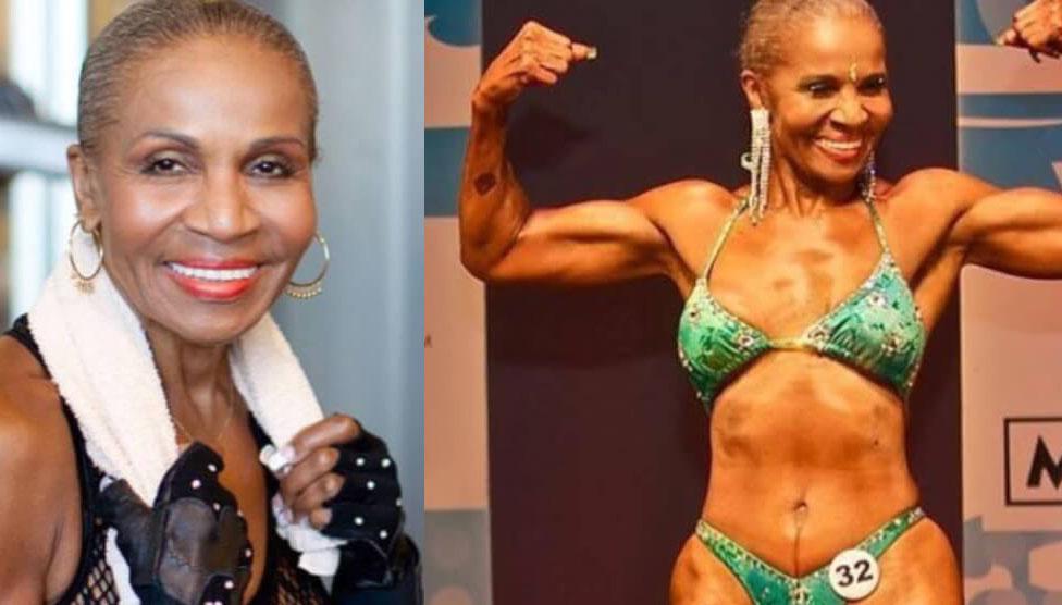 80-летняя Эрнестина Шепард из Балтимора стала иконой бодибилдинга