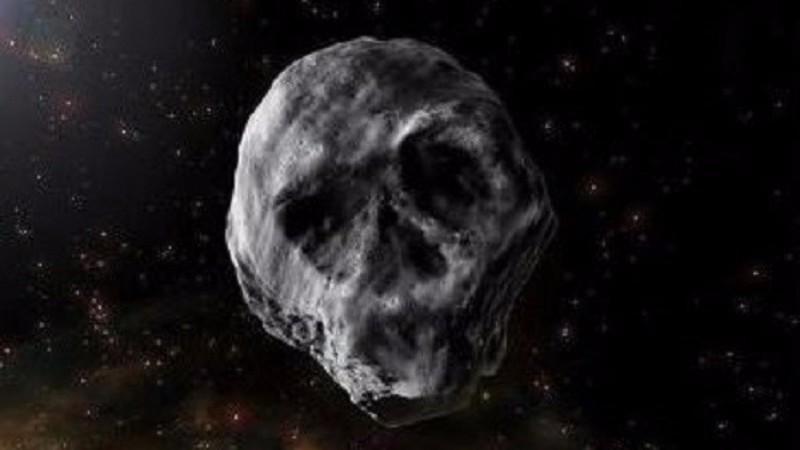 Астероид в форме черепа опять приблизится к Земле на Хеллоуин