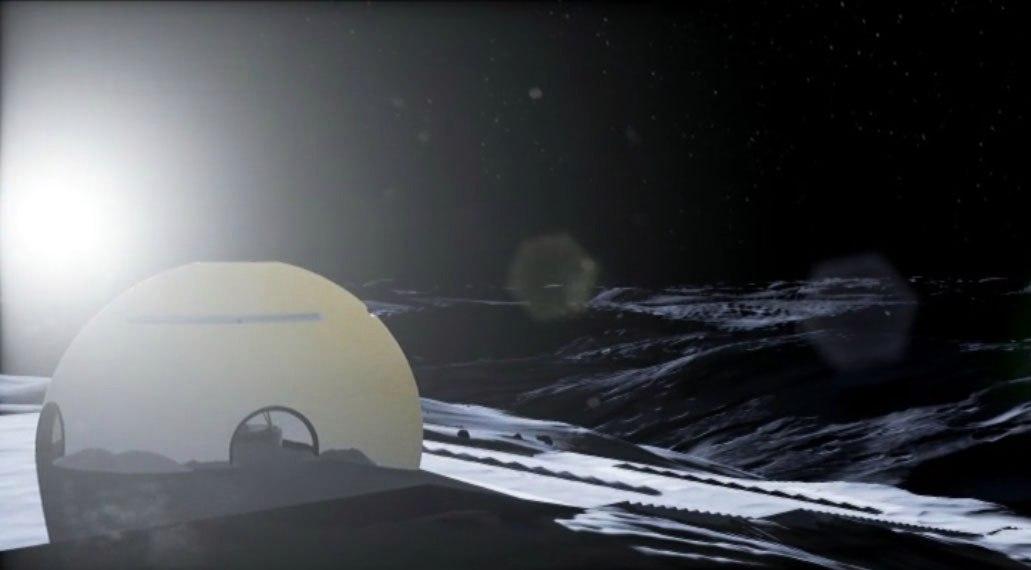 На Луне возведут храм для адаптации первых поселенцев