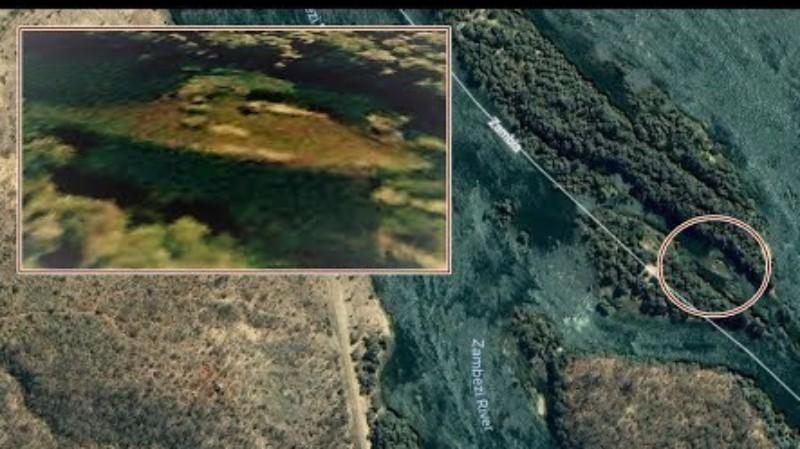 В Африке потерпел крушение инопланетный корабль