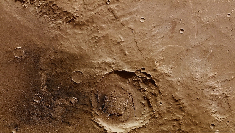 На Марсе нашли следы катастрофического мега-цунами