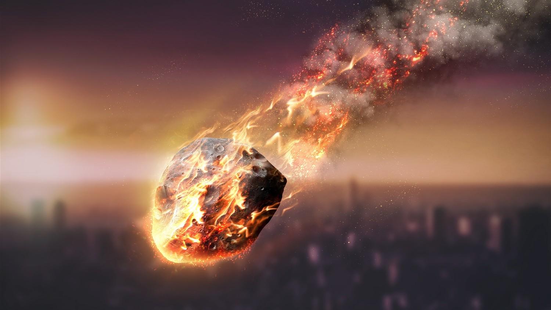 Ночь превратилась в день: над Испанией взорвался огромный метеорит