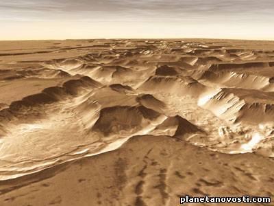 Исследователи заглянули в далекое прошлое Марса