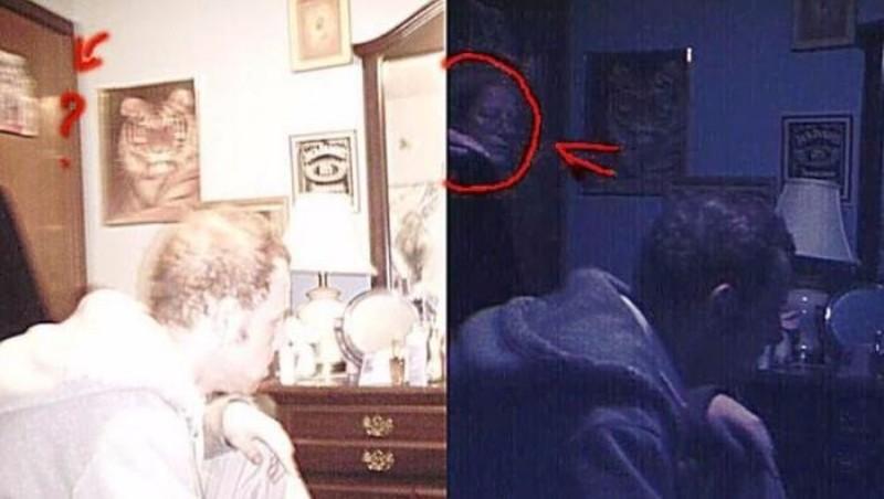 Призрак женщины в очках напугал пользователей социальной сети