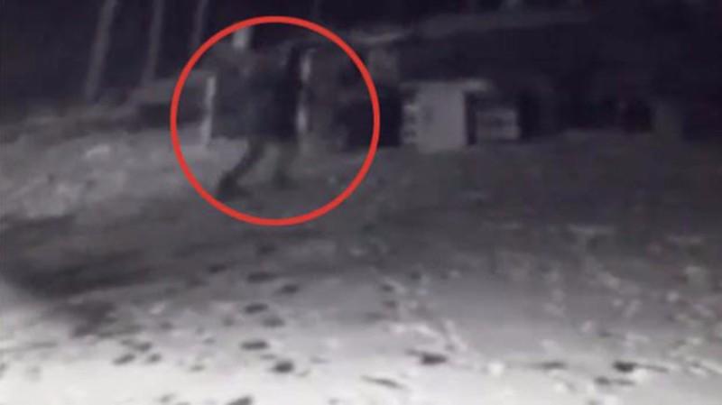 В США камера видеонаблюдения засняла исчезновение человека