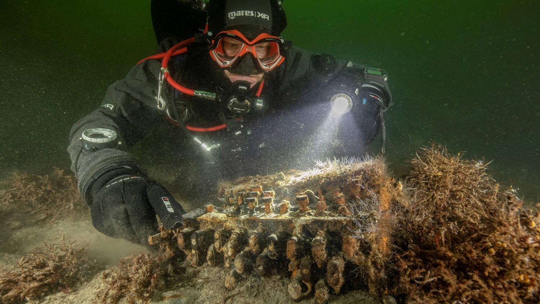 На дне Балтийского моря обнаружили шифровальные машины нацистов