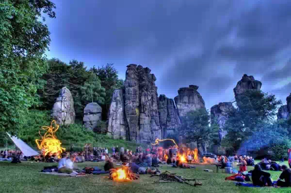 Экстернштайне — загадочное святилище Тевтобургского леса
