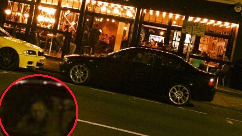 Парень сфотографировал призрака в своем новеньком автомобиле