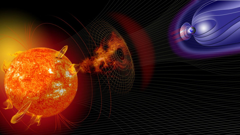 Ученые зафиксировали начало магнитной бури необычного происхождения