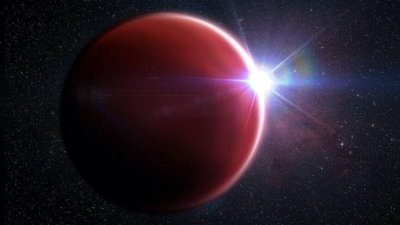 В 600 световых лет от Земли обнаружена планета похожая на Юпитер