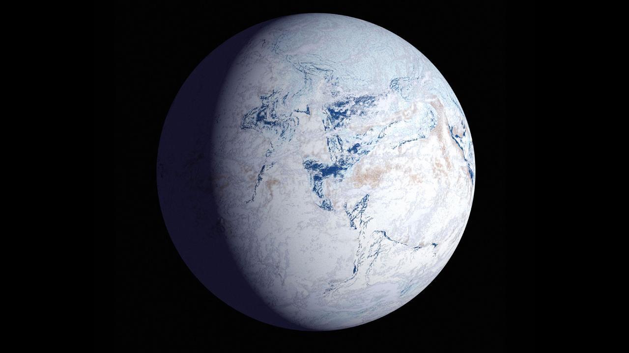 Ледниковый период начался из-за смещения полюсов Земли