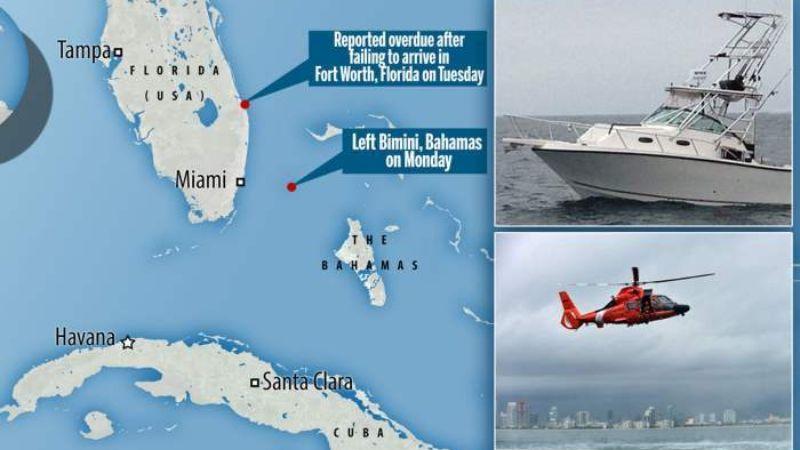В Бермудском треугольнике пропал корабль с 20 людьми на борту