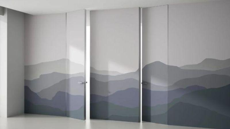 Когда предпочитают ставить невидимые двери?