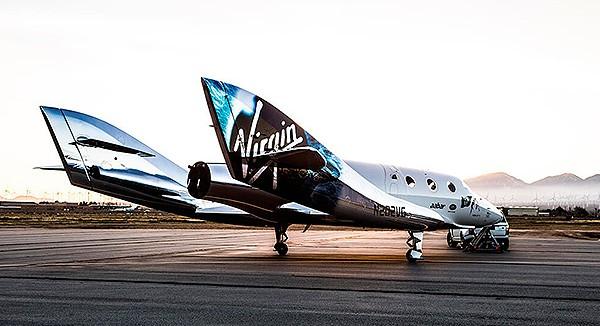 Virgin представила «космическую маршрутку»
