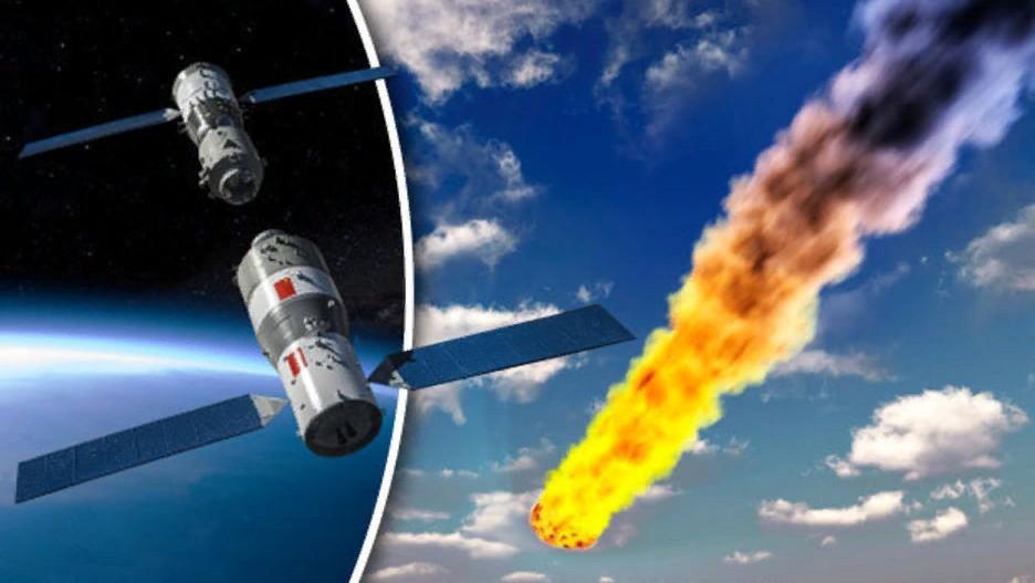 Свершилось: китайская станция «Тяньгун-1» упала в Тихий океан