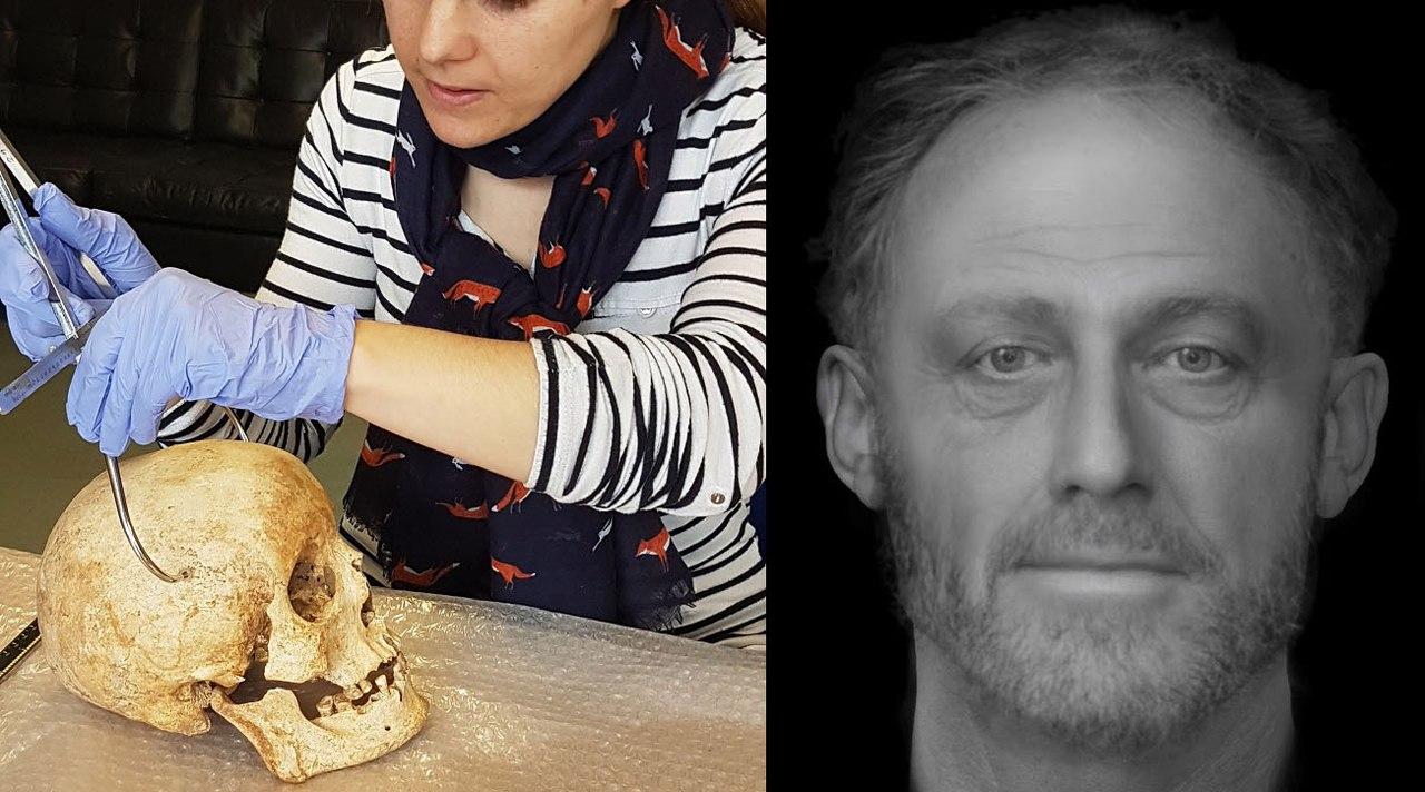 Умерший 700 лет назад мужчина приобрел лицо