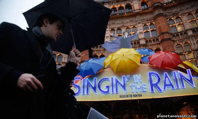 Великобританию заливают дожди