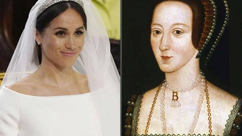 Принц Гарри и Меган Маркл поженились в день казни Анны Болейн