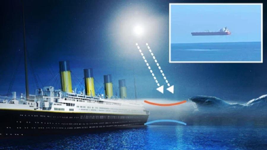 Парящие в небе корабли у британских островов могут раскрыть 109-летнюю тайну крушения Титаника