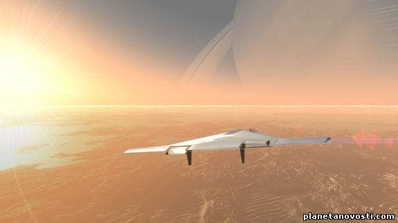Ученые разрабатывают концепт надувного аппарата для исследования Венеры