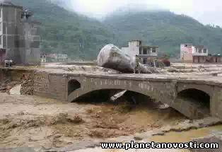На юге Китая от наводнений пострадали более миллиона человек