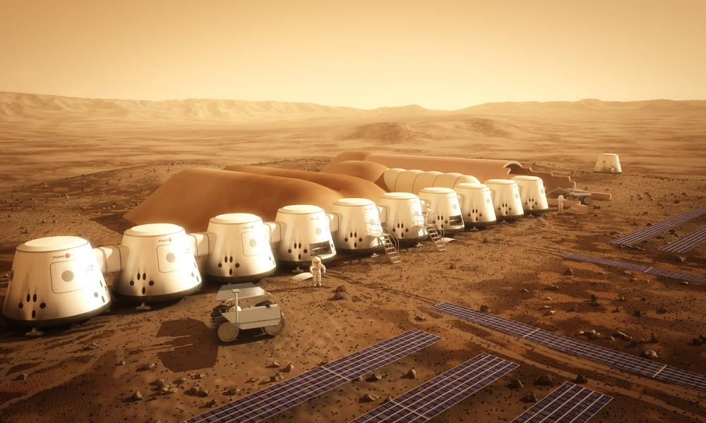 На Марс полетят первые обезьяны