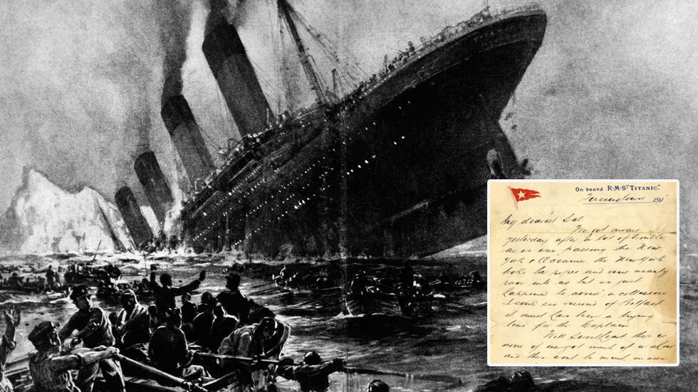 Специалисты обнаружили письмо с Титаника: что было после выхода из порта