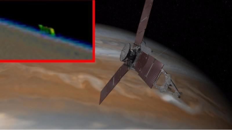 На орбите Юпитера обнаружили огромный инопланетный корабль