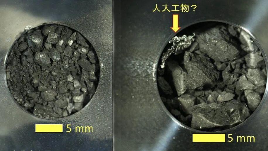 В грунте с астероида Рюгу обнаружена структура искусственного происхождения