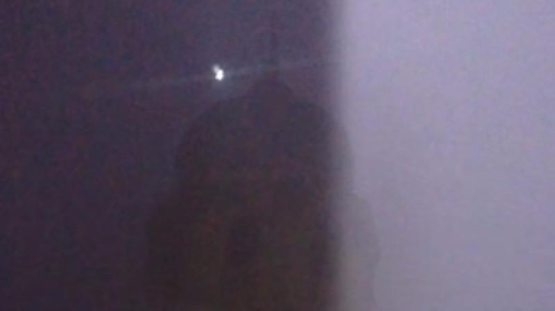 В Италии над храмом завис странный светящийся объект
