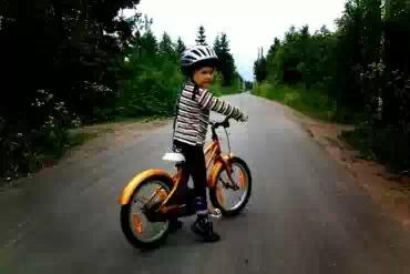 Американцы создали велосипед для детей, что не падает