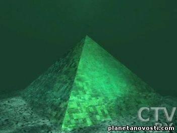 На дне Бермудского треугольника пирамиды в несколько раз больше Египетских