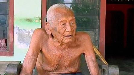 Старейший житель планеты возрастом 145 лет объявился в Индонезии