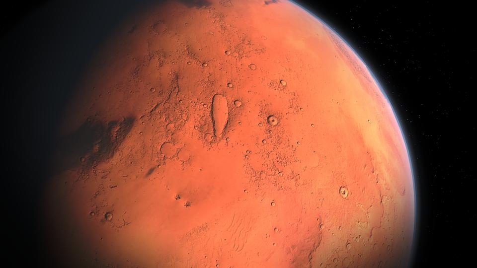 Загадочное колебание смещает полюса Марса, — исследование