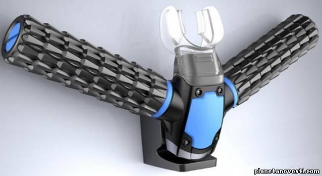Это изобретение даёт человеку возможность дышать под водой