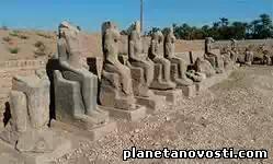 В Египте обнаружена древняя статуя царевны