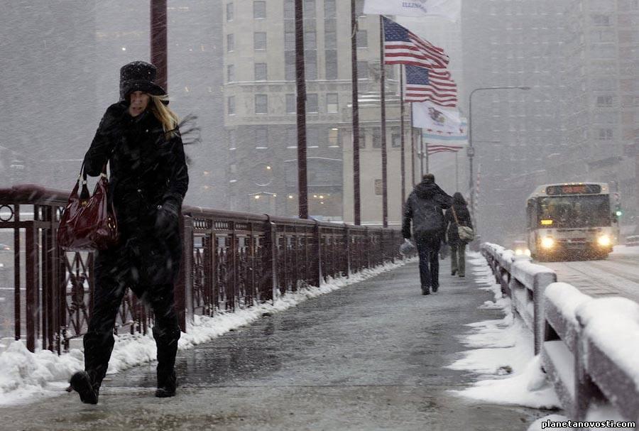 Жертвами рекордных морозов в США стали более 20 человек