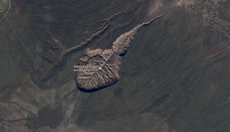 Неутешительные новости: кратер Батагайка в Сибири продолжает расти