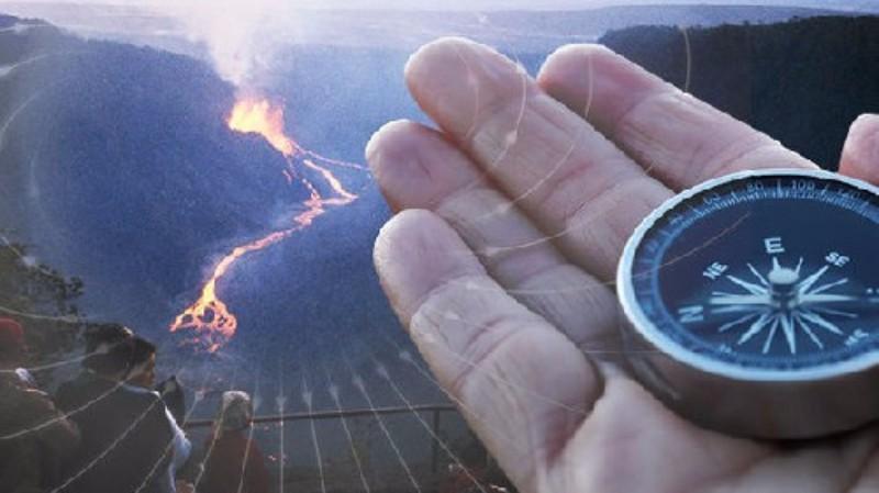 На гавайском вулкане Килауэа началась переполюсовка магнитного поля