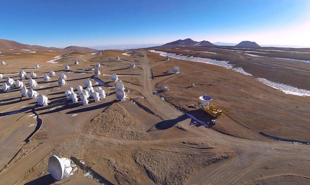 Наземный радиотелескоп ALMA достроен