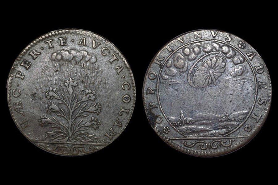 Появление НЛО на Земле подтвердила французская монета XVI века