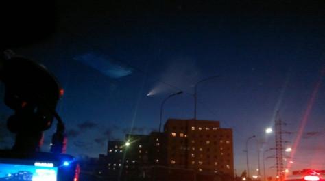 Жителей Омска напугало яркое НЛО в небе