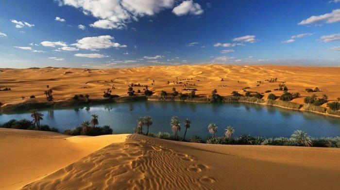 Убари — невероятный оазис в пустыне Сахара