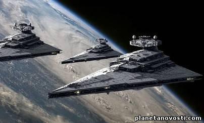 Камера МКС зафиксировала огромную армаду НЛО направляющихся к Земле