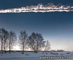 С утра пораньше над Якутией опять что-то пролетело То ли метеорит, то ли НЛО