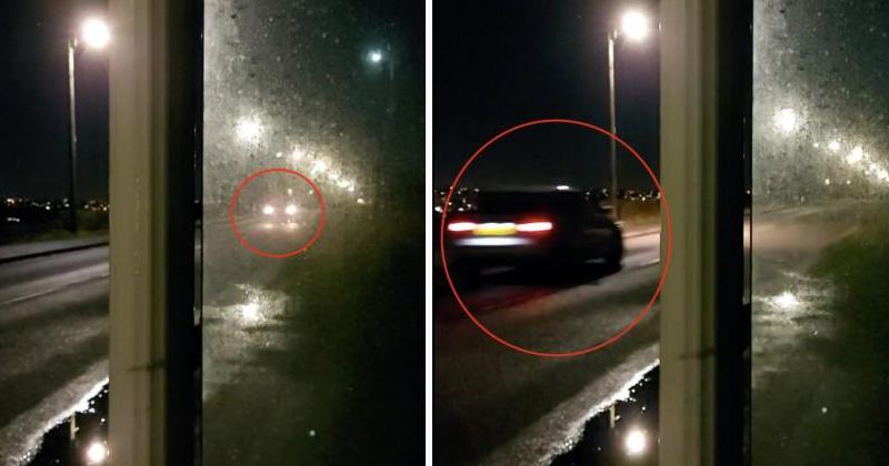 У парня на глазах исчезла машина: опубликовано видео происшедшего