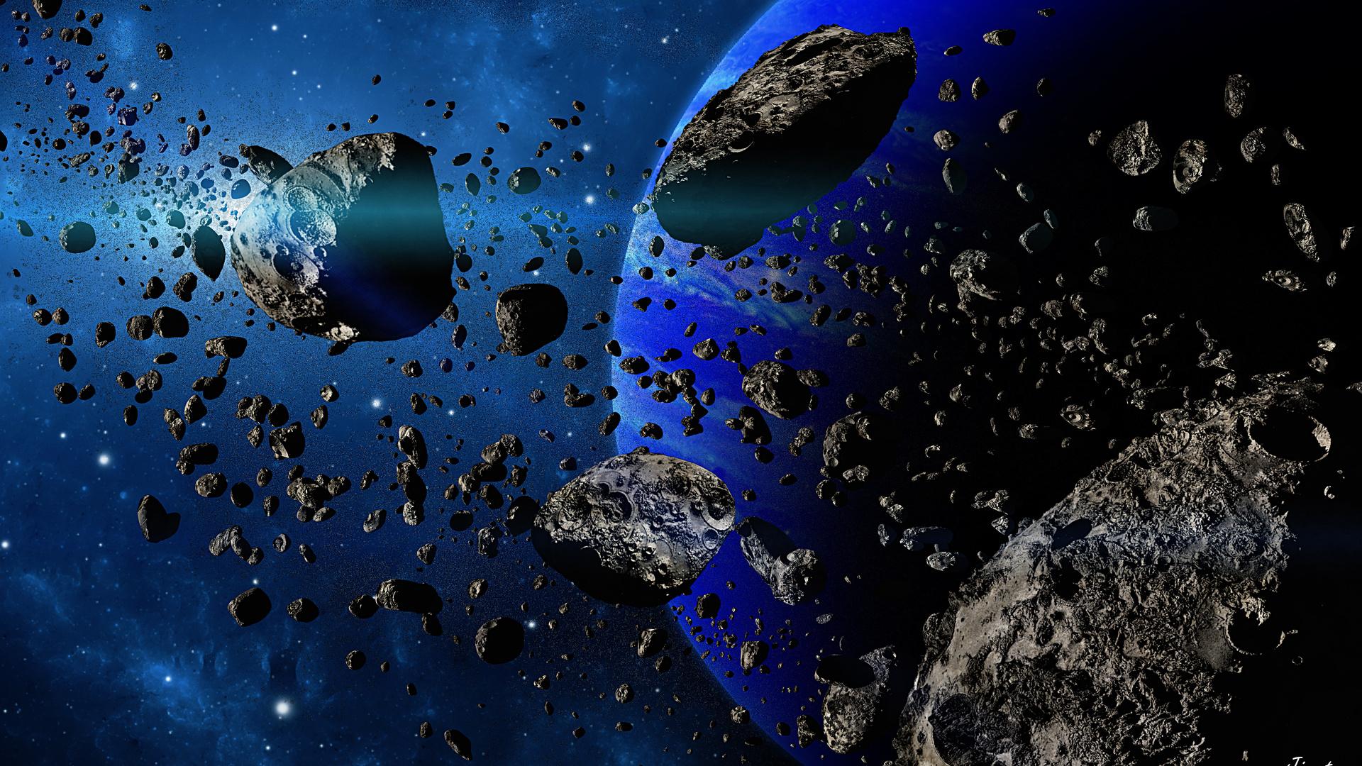 Ученые «взорвали» астероид диаметром 200 метров