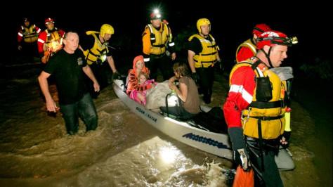 Катастрофическое наводнение в США, есть жертвы