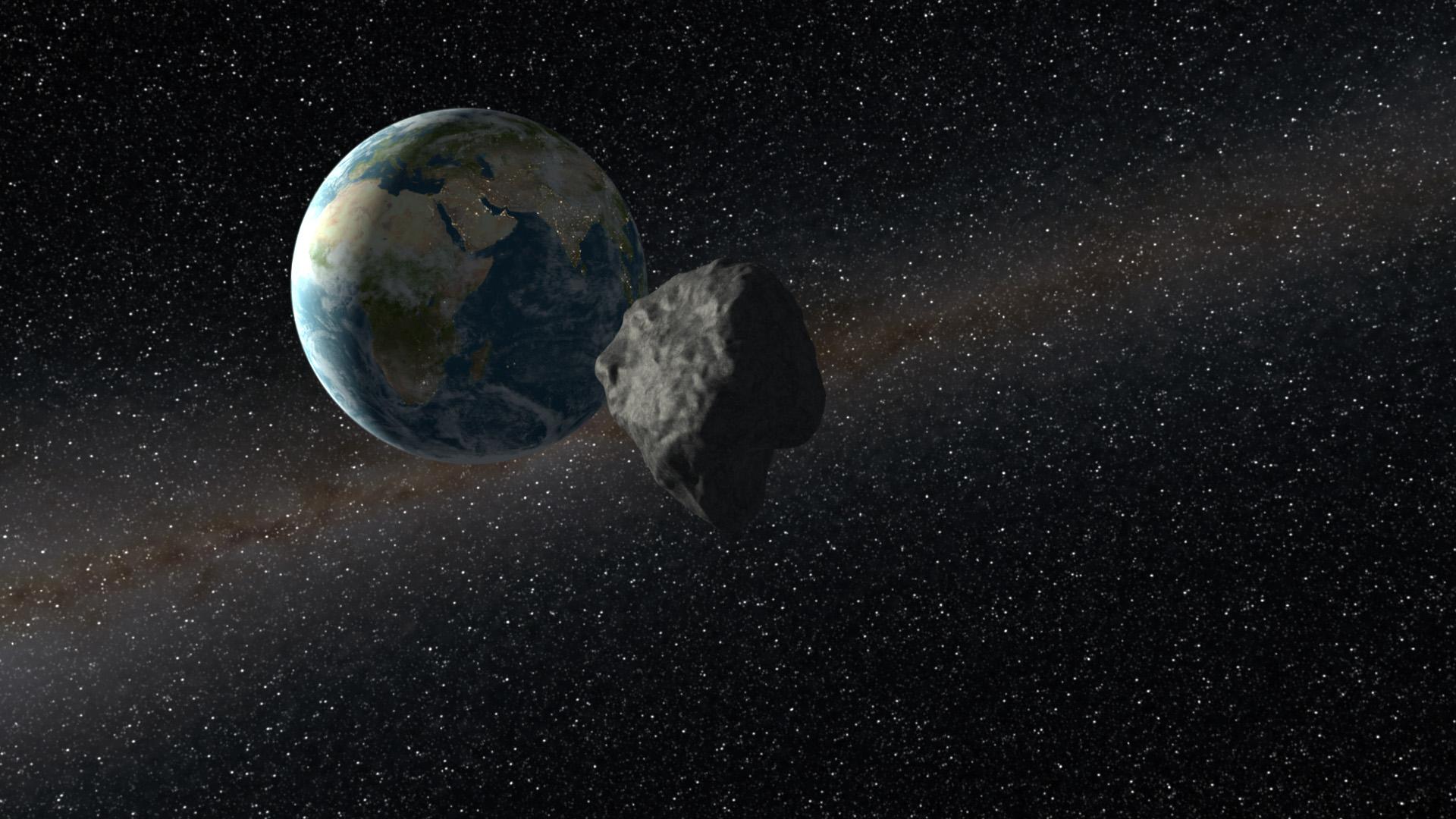 Астероид 2015 TB145 пролетит вблизи Земли на Хэллоуин