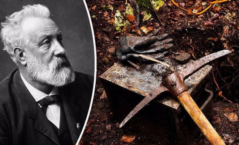 Найдена «временная капсула» Жюля Верна